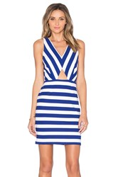 Amour Vert Amber Cut Out Dress Blue