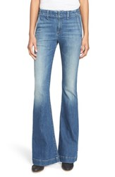 Rag And Bone Women's Rag And Bone Jean High Rise Bell Bottom Trouser Jeans Corsa