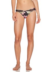 Lovers Friends Sheer Shot Bikini Bottom Black