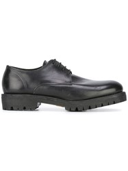 Guidi Classic Derby Shoes Black