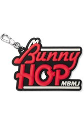 Marc By Marc Jacobs Bunny Hop Keychain Silver