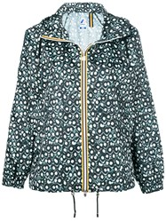 K Way Paulette Poly Jacket Green