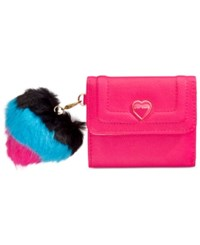 Betsey Johnson Xox Trolls French Wallet Only At Macy's Fuschia