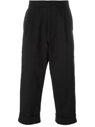 J.W.Anderson J.W. Anderson Cropped Trousers Black