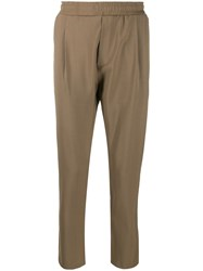 Low Brand Tapered Trousers Neutrals