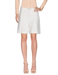 Marc Cain Knee Length Skirts Ivory