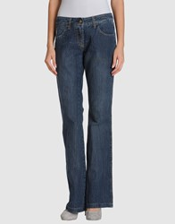 Cappopera Denim Denim Trousers Women Blue