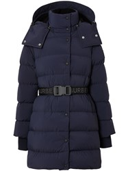 Burberry Detachable Hood Belted Puffer Jacket 60