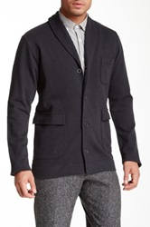 Billy Reid Terry Cardigan Black