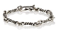 Dean Harris Twisted Link Sterling Silver Bracelet