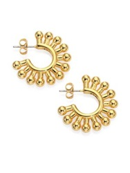 Giles And Brother Ball Hoop Earrings 1 Gold