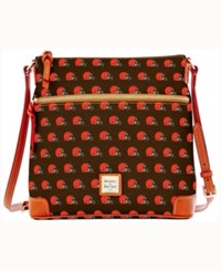 Dooney And Bourke Cleveland Browns Crossbody Purse