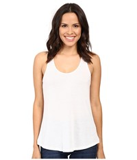 Alternative Apparel Vintage 50 50 Backstage Tank Top White Women's Sleeveless