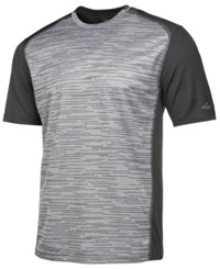 Greg Norman For Tasso Elba Men's Heathered Performance T Shirt Created For Macy's Shark Opd
