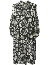 Alexander Mcqueen Cabinet Of Shells Blouse Black