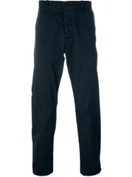 Ymc Chino Trousers Blue
