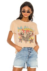 Junk Food Def Leppard World Tour Tee Tan