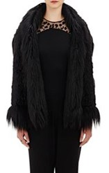 Stella Mccartney Lynn Faux Fur Vest Black