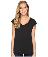 Arc'teryx Emory Short Sleeve Top Black Women's Clothing