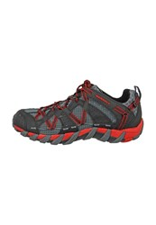 Merrell Maipo Walking Shoes Black Red