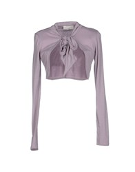 Alysi Topwear Shrugs Women Lilac