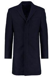 Banana Republic Classic Coat Navy Dark Blue