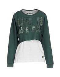 Merfect M Erfect Sweatshirts Deep Jade