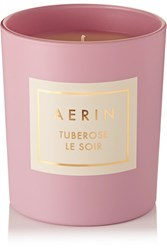 Aerin Beauty Tuberose Le Soir Scented Candle Pink