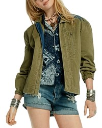 Scotch And Soda Embroidered Army Jacket 100 Bloomingdale's Exclusive Military Green