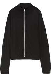 The Elder Statesman Cashmere Cardigan Black