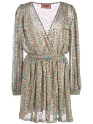 Missoni Sheer Day Dress Green
