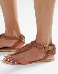 New Look Flat Sandals Tan
