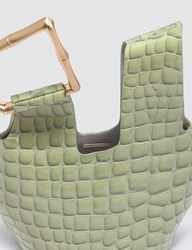 Cult Gaia Mini Astraea Tote Green