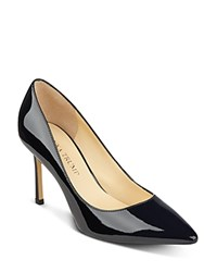 Ivanka Trump Patent Pointed Toe Pumps Black Patent