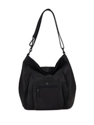 Elliott Lucca Vivien Leather Hobo Bag Ink