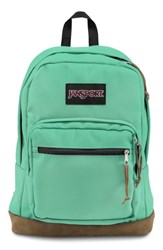 Jansport Right Pack Backpack Green Cascade