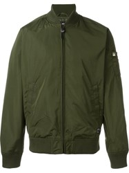 Obey 'Eight Ball' Bomber Jacket Green