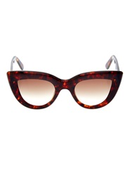 Ellery Quixote Cat Eye Sunglasses