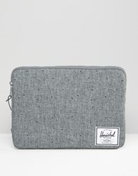Herschel Supply Co Anchor Sleeve For Macbook 13In In Grey Grey