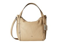 Lauren Ralph Lauren Grafton Felicity Hobo Straw Hobo Handbags Neutral