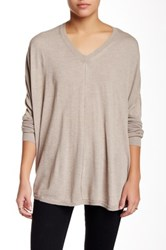 Zoa V Neck Sweater Beige
