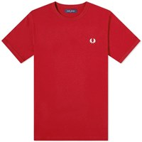 Fred Perry Authentic Ringer Tee Burgundy