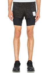 Satisfy Long Distance Shorts Black