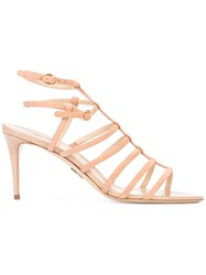 Paul Andrew Strappy Sandals Nude Neutrals