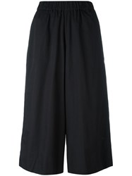 Antonio Marras Cropped Trousers Black
