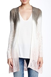 Fate Ombre Open Front Sweater Multi