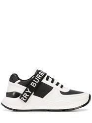 Burberry Logo Tape Sneakers White