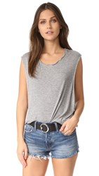 Free People The It Muscle Tee Grey
