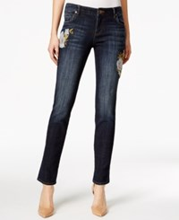 Kut From The Kloth Embroidered Catherine Boyfriend Jeans Honorable
