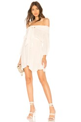 Clayton Billie Dress White